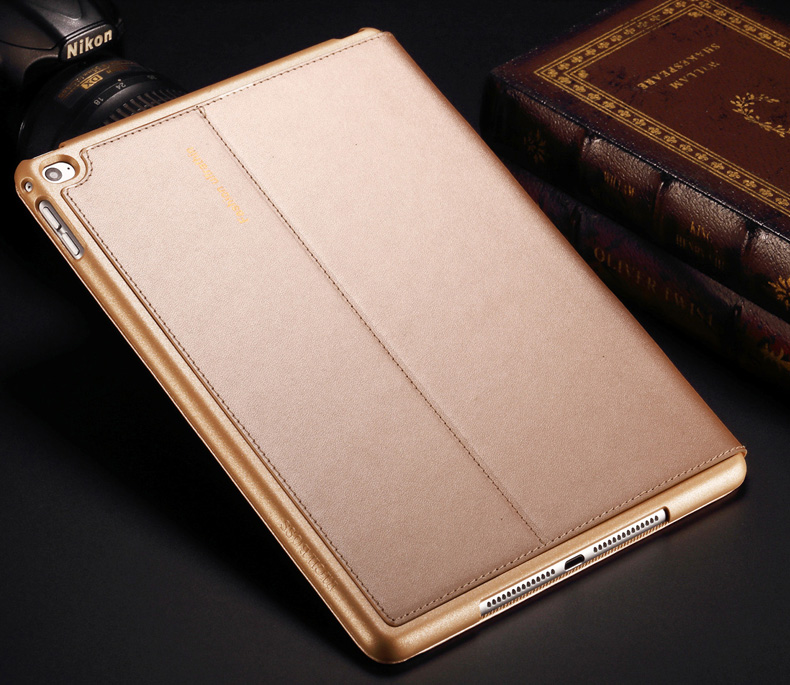 HOT! Ultra Slim Smart cover case For Apple iPad air 2 Protect Case with Auto Sleep for iPad 6 air2 Luxury PU Leather Cover