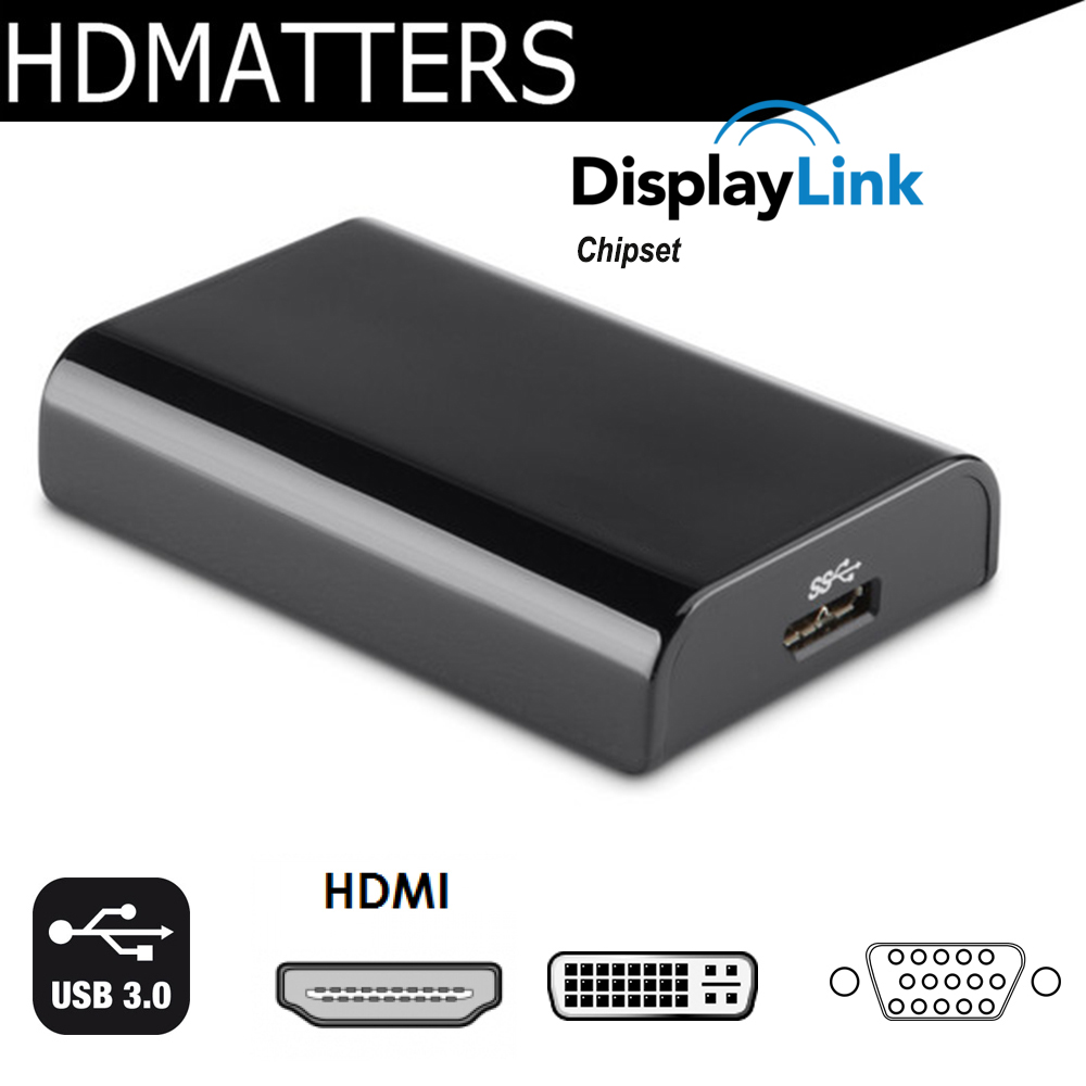 USB 3.0 para HDMI DVI VGA displaylink USB 3.0 para VGA Multi Adaptador de Vídeo DVI Converter para windows 10/ 8/7 apple mac os