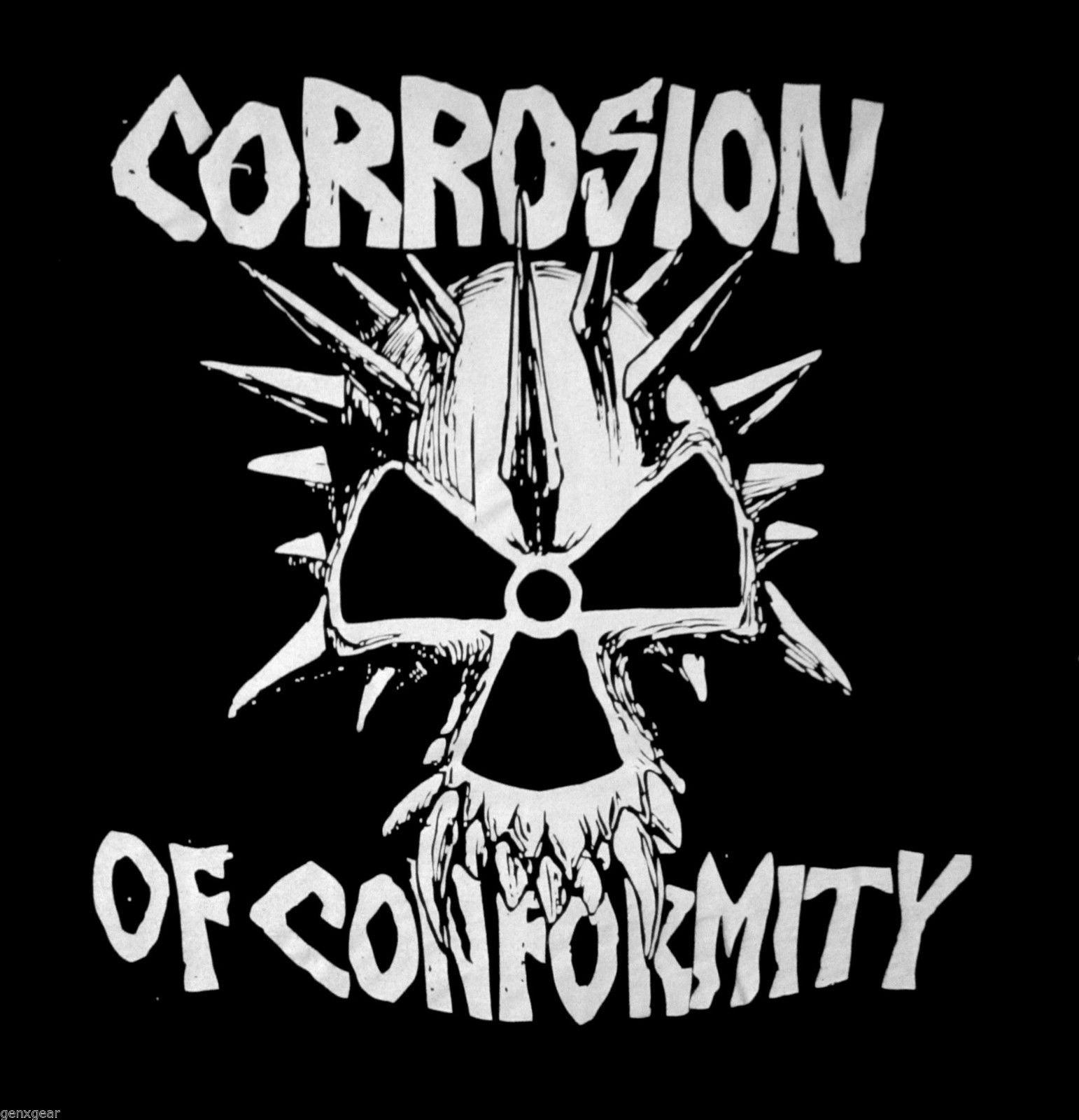 CORROSION OF CONFORMITY cd cvr EYE FOR AN EYE Official SHIRT MED new C.O.C.