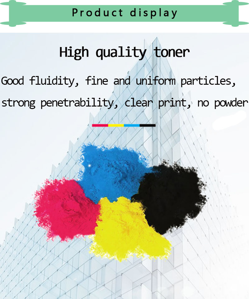 Image 4 - Compatible for hp 203A CF540A 540a toner cartridge for HP LaserJe Pro M254nw M254dw MFP M281fdw M281fdn M280nw printer-in Toner Cartridges from Computer & Office