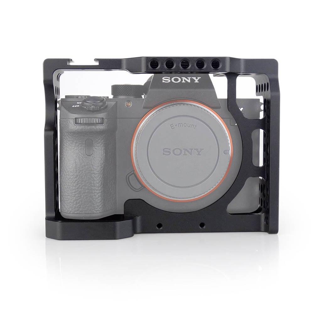 MAGICRIG En Aluminium Caméra Cage Avec Standard Chaussures Froide Pour Sony A7II/A7III/A7RII/A7RIII Caméra À Rapide communiqué de Rallonge De Kit