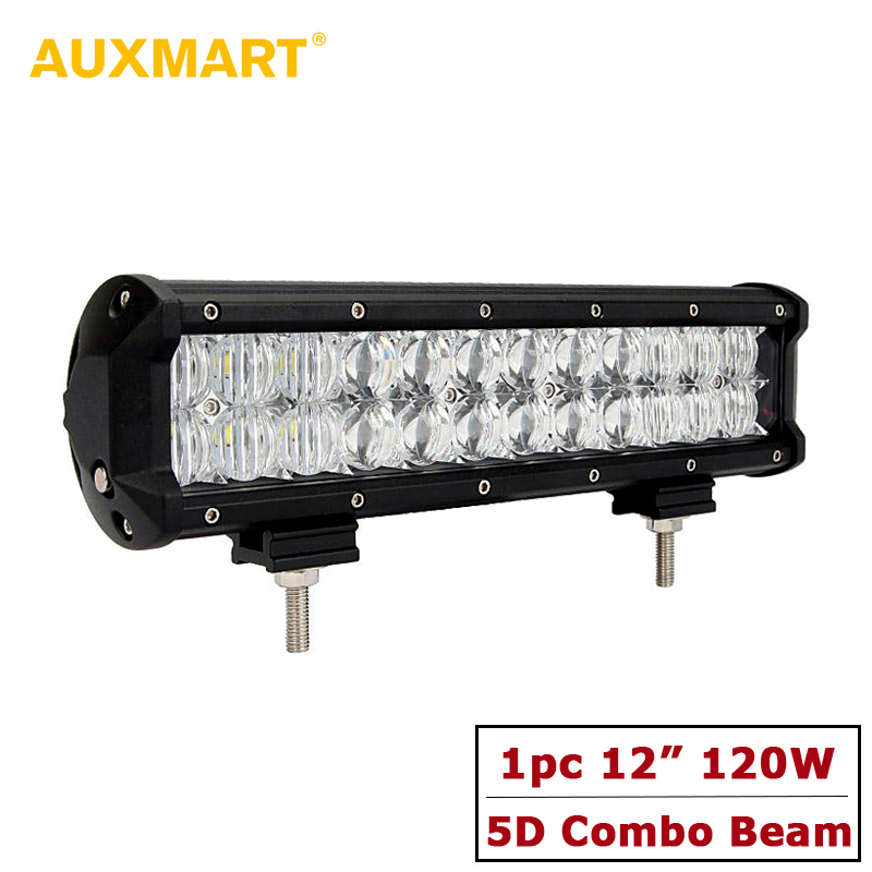 CREE 5D Chips LED Light Bar Curved/Straight