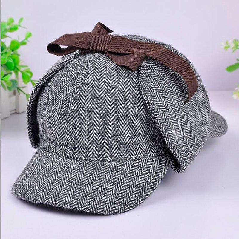 205bb6af Αγορά Άνδρες ' s καπέλα | Brand Sherlock Holmes Detective Hat Unisex ...