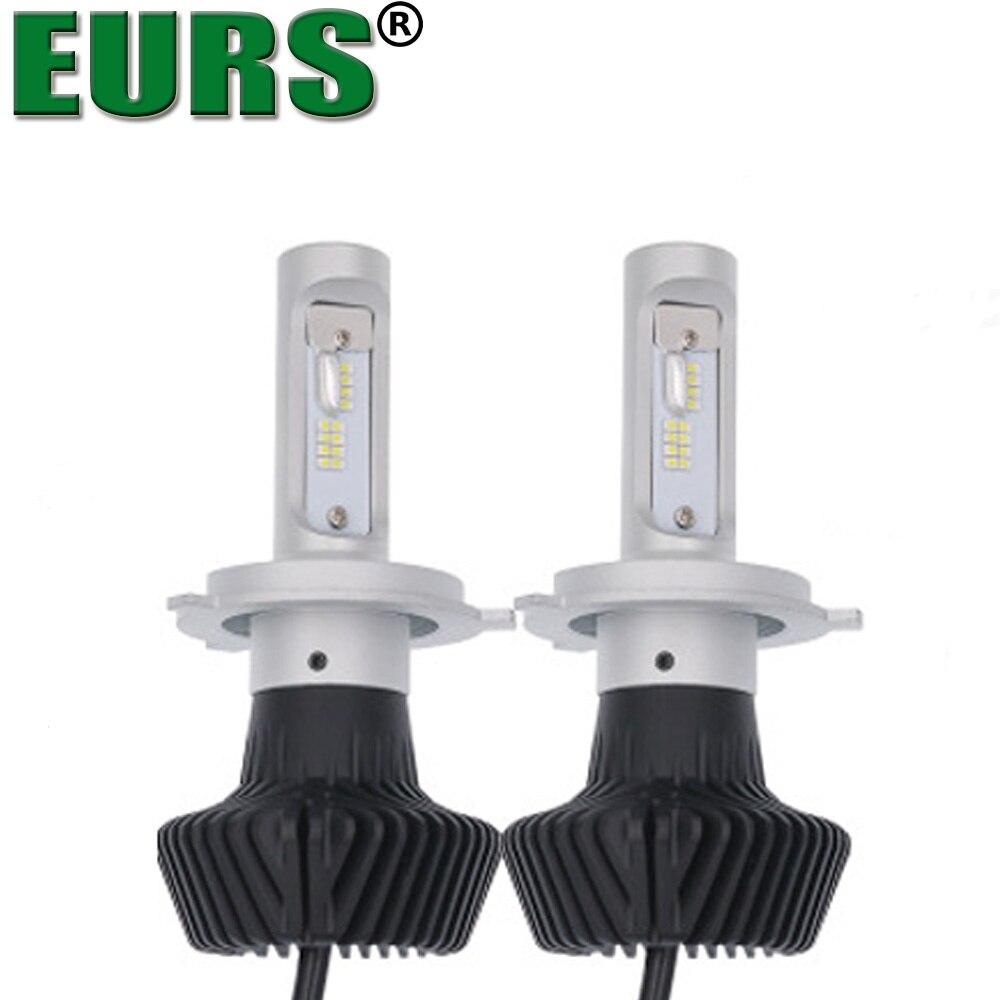 EURS(TM) G7 LED lights Motoecycle headlights H1 H3 H4 H7 H8/H9/H11 9005 9006 9012 880 car lamps high quality car styling bright