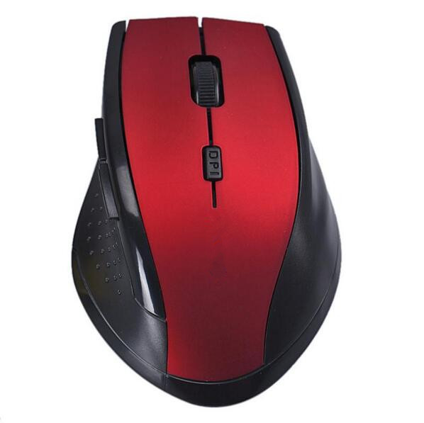 2017 New Arrival Portable 2.4G Wireless Optical Mouse Mice For Computer PC Laptop Gamer image