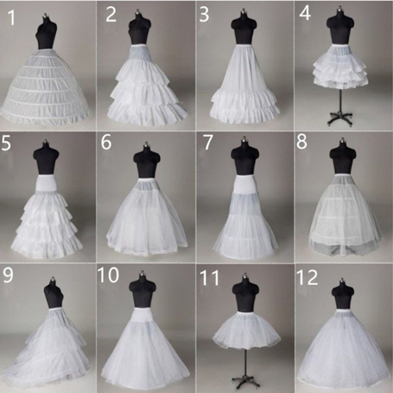 Women Crinoline Petticoat Wedding Skirt TuTu Hoop Undersk Petticoat Lolita Ballet Rockabilly Crinoline In Stocks 2019