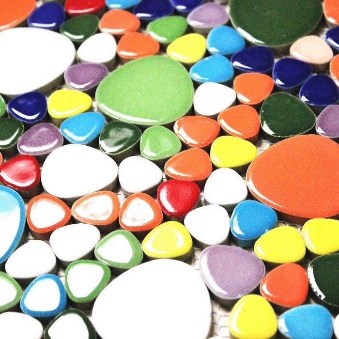 գունագեղ խառնուրդի գույներ խճաքար - Տնային դեկոր - Լուսանկար 4