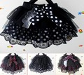 Kids Toddlers Girls Dots Tulle and Cotton Lined Tutu Dance Skirts 3-6 Years Girl