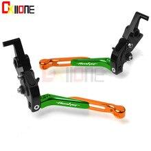 For Honda Hornet 2007 2008 2009 2010 2011 2012 2013 CNC Folding&Extending Red Motorcycle Brake Clutch Levers все цены