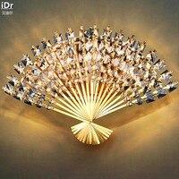 Современные и инновационные коридоре Прихожая гостиная спальня ден K9 Crystal Light Настенные светильники olu 0022