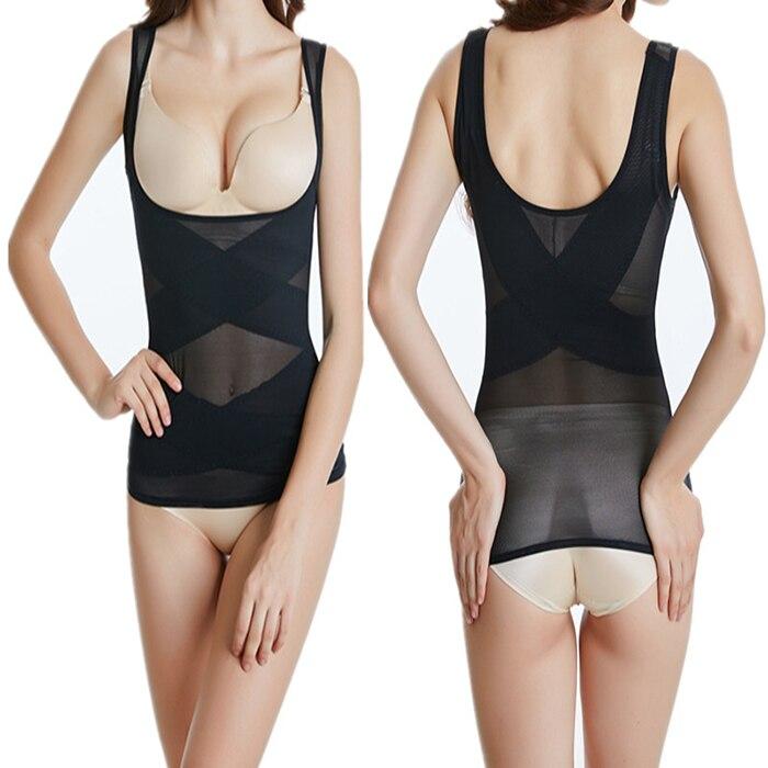 Plus size Women Body shaper waist trainer Slimming underwear corset pants slimming belt shapewear wedding corrective underwear 1