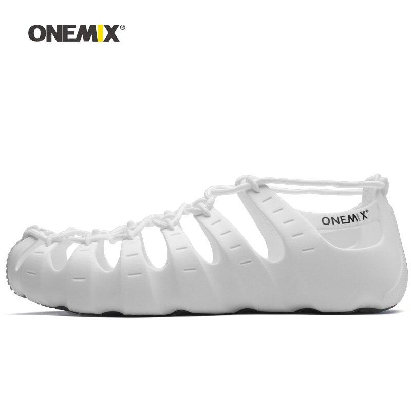 ONEMIX femmes Roma botte plage Wading en amont en plein air sandales marche baskets pour hommes Sport pantoufles intérieur Yoga chaussette chaussures bricolage