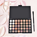 Professional 40 Color Pearly Matte and Shimmer Nude Shade Eye Shadow with Brush Eyeshadow Eye Make Up Comestic 2 Types