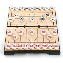 Jogo de tabuleiro dobrável magnético portátil 25*25*2cm do jogo de xadrez do chinês de xiangqi f227