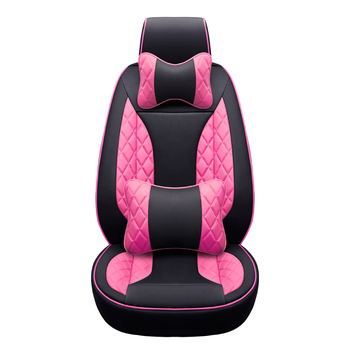 Front+Rear Leather Custom car seat cover for infiniti fx jaguar xf hummer h2 for chrysler 300c voyager geely emgrand ec7 styling