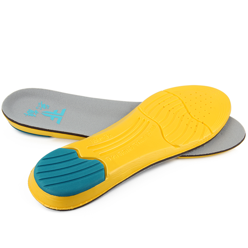 Inline Skates Shockproof Insoles Orthotics Arch Supports Sport Athletic Insoles Pads For Skating Patines Inserts Pain Relief Cut