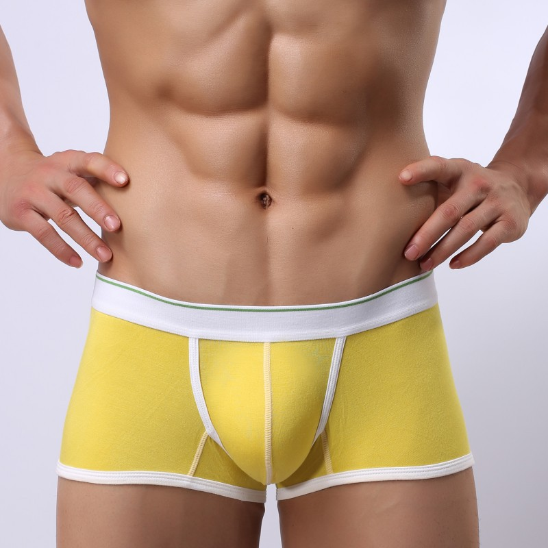 Aliexpress.com : Buy Fashion Sexy Breathable Mens Boxer Underwear ...