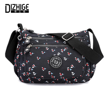 DIZHIGE Brand Fashion Nylon Women Shoulder Bag High Quality Crossbody Bags For Famous Thread Messenger 2018 New