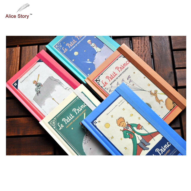 New Planner 2018 Vintage Hardcover the Little Prince Diary Notebook with Monthly/Weekly Planner Schedule Journal School Gift the little prince