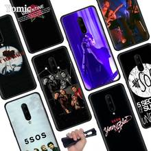 5Sos band 5 Seconds of Summer Black Soft Case for Oneplus 7 Pro 7 6T 6 Silicone TPU Phone Cases Cover Coque Shell
