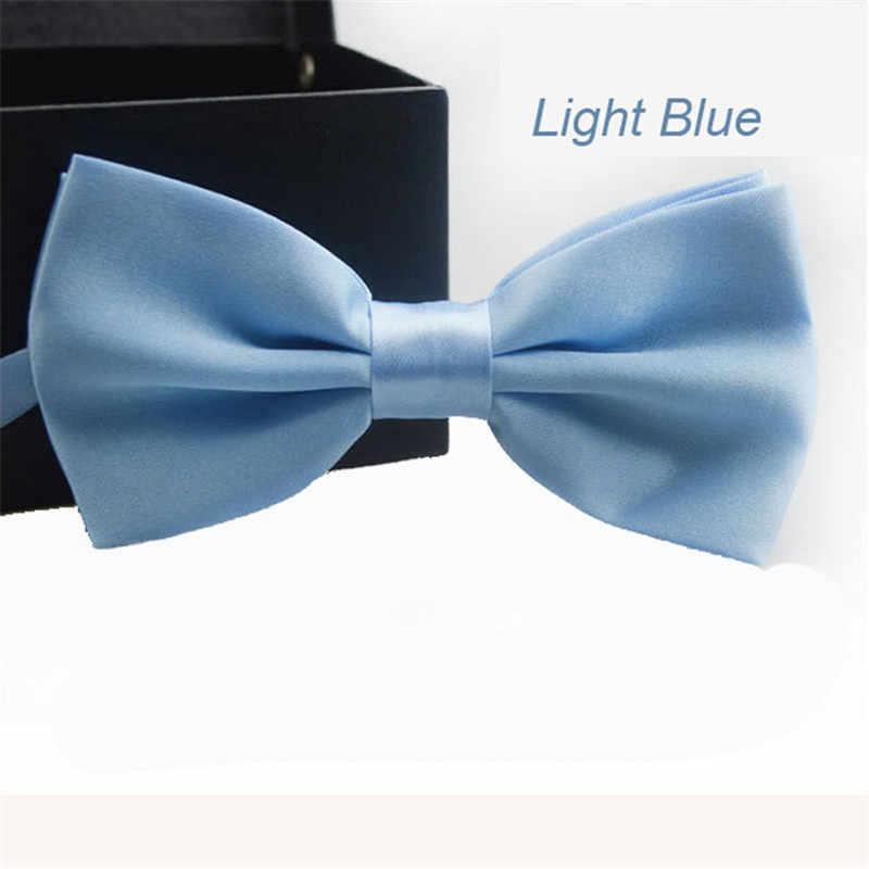 Trustworth 16 видов цветов галстук-бабочка для мужчин Классический Gravata твердый новинка мужской s регулируемый смокинг брендовый Свадебный галстук Галстуки # LSW
