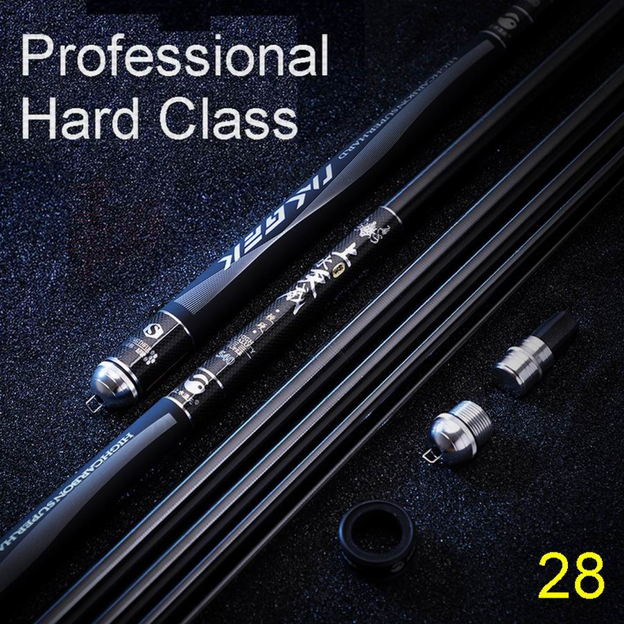 TAIGEK Honeycomb Black Diamond Superlight Superhard Telescopic Fishing Rod High Carbon Fiber Quality Top Level No. 1 Comfortable
