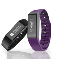 Orginal Vidonn X6S Sports Smart Wristband Smart Watch  Sleep Monitor Wearable Fitness Waterproof IP65 Bracelet for IOS&Android