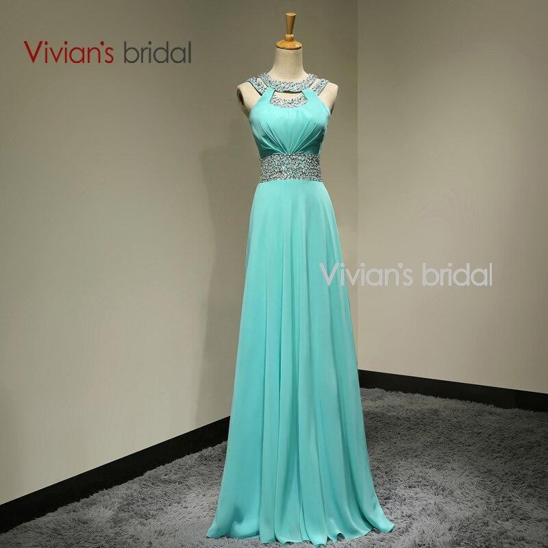 Vivian Nupcial Backless Atractivo Moldeado Largo Vestido de Noche Formal de la N