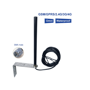Image 4 - High gain 25dBi outdoor base station GSM GPRS 2.4 5G LTE 4G antenna RG58 cable 3 m feeder SMA male pin connector 1PCS