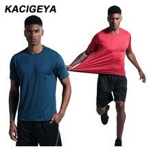 Gym Short Sleeves Men 2019 Brand Training Fitness T-shirt Homme Sport Running Summer Top Compression Cycling Basketball Shirt