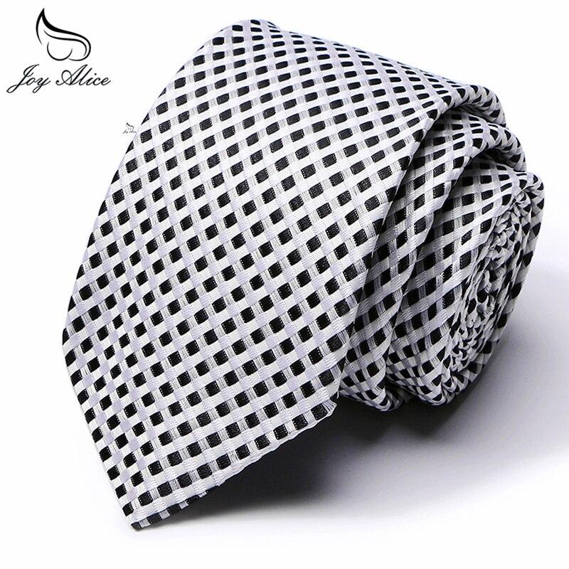 Skinny Tie For Men Jacquard Woven Fashion Man Accessories Solid Silver Gray Green Blue Business Wedding Thin Slim Necktie 7.5cm