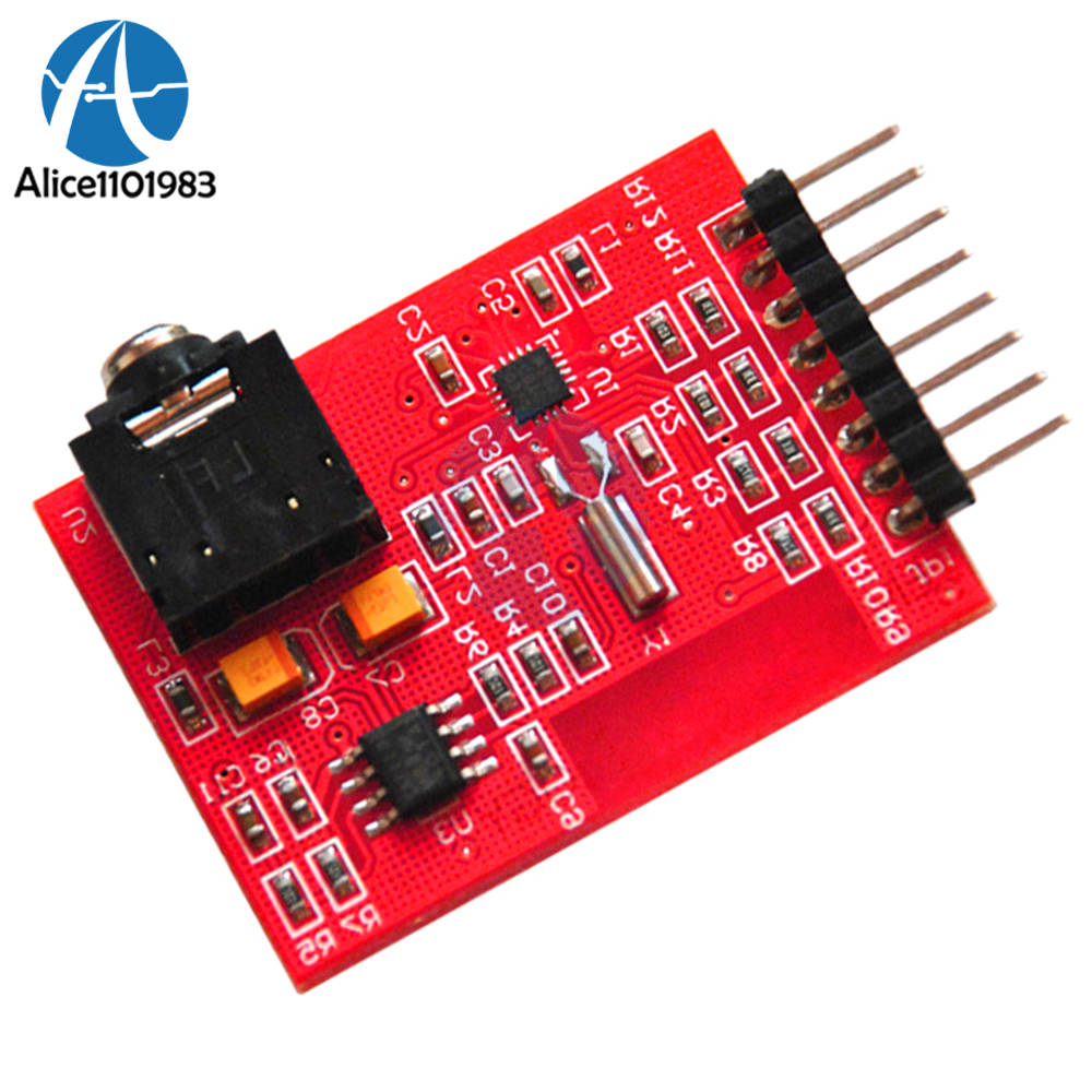 I2c Iic Interface Fm Radio Transmitter Module V20 Digital 25jc Ic Package Chip Ba1404 Programmable Integrated Circuit Si4703 Rds Tuner Evaluation Breakout Board For Arduino Avr Pic Arm Detect Rbds