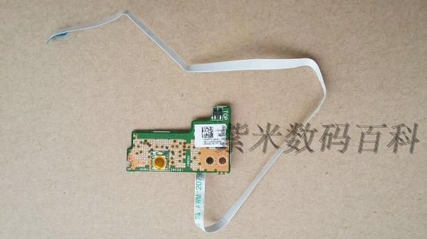 Envío gratis panel de encendido para asus x550dp x750dp portátil placa del interruptor con cable