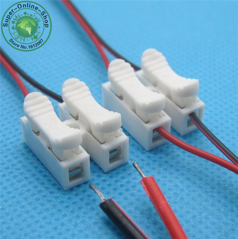 10 x 3p spring led connector wire with no welding no screws cable rh aliexpress com Terminal Blocks and Strips Wire Terminal Block Connectors