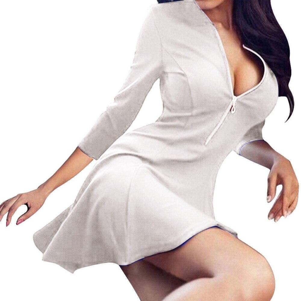 Женское однотонное сексуальное платье Slim Fit новые полки облегающее платье женское однотонное Грудь V воротник облегающее платье черное пла...