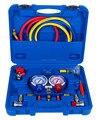 Ar condicionado automotivo de Alta Qualidade medidor de pressão do Refrigerante para R134a R404 R22 R12 R1234fy medidor de pressão do refrigerante