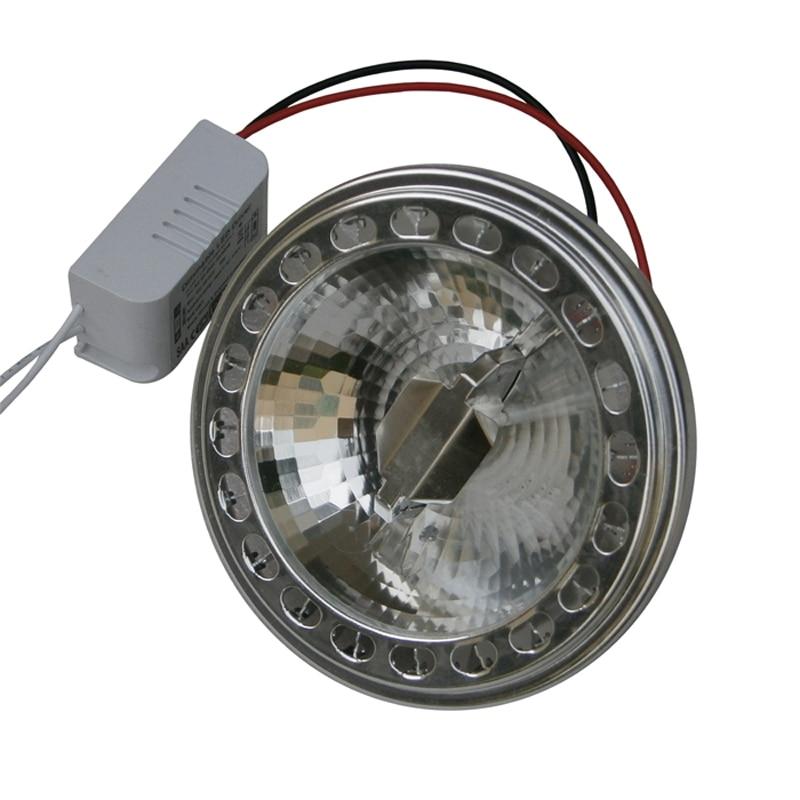 Jiawen 9W AR111 LED Lamp,LED Downlight  Bean Pot Lamp cup Dimmable Lighting Grid Light Liner