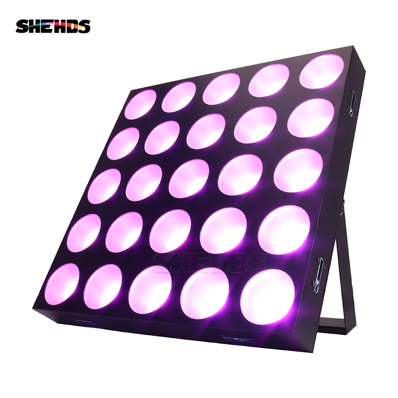 LED 25x30W RGBW Blinder Matrix DMX512 Stage Effect Lighting Good For DJ Disco Party Dance Floor Clubs And Wedding Decorations