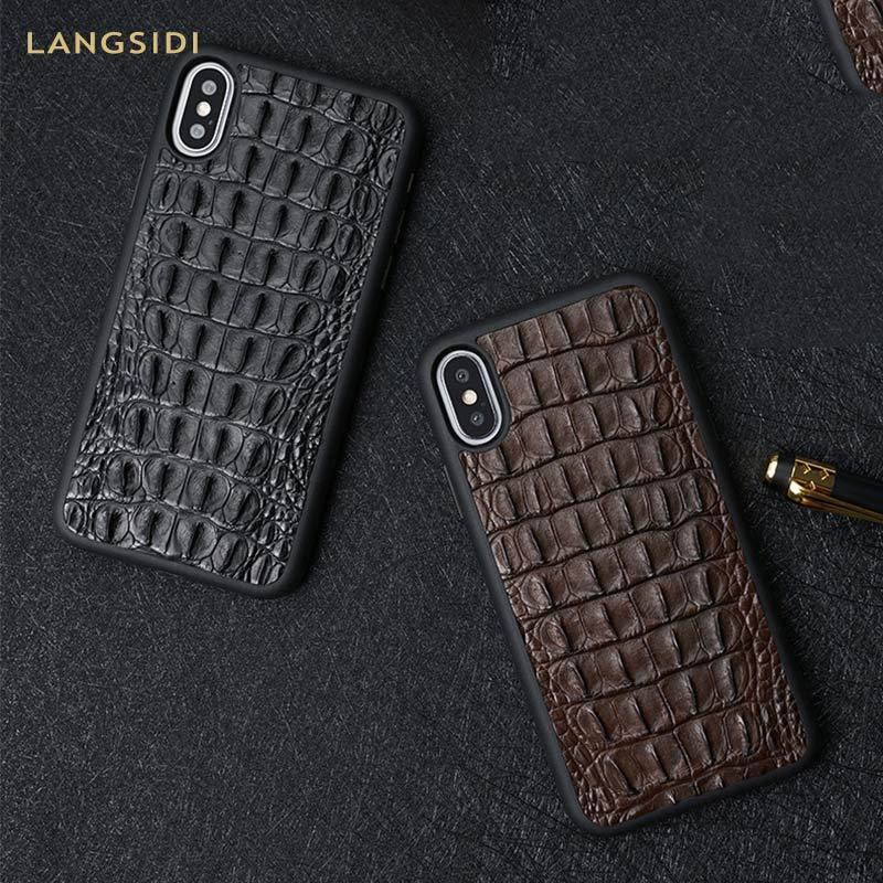 Натуральный Крокодил из натуральной кожи для huawei p20 lite чехол высококачественный кожаный чехол для huawei p20 pro Чехол