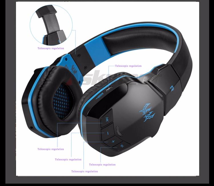 EACH B3505 Wrieless Bluetooth 4.1 Stereo Headphone Headband Earphone Headset with Mic for iPhone 6iPhone6 Plus Samsung (8)