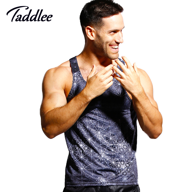 ae6fe8f2c88a72 Taddlee Brand Men Tank Top Singlets Muscle Sexy Fashion 2017 Top ...