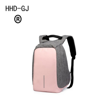 HHD-GJ Anti-theft Waterproof Laptop Backpack Men Women External USB Charge Notebook Backpack with USB Computer Pack Computer Bag