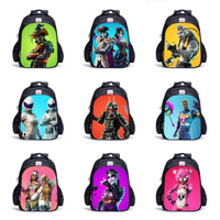 Children School Bags Boy 3D Battle Royale Fortnit Game Backpacks Fortni Cosplay Costume for Boys Girls Travel Bag Daily Backpack