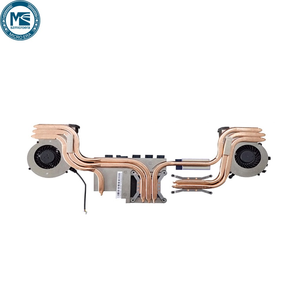 original new heatsink with fan for msi GE62 GP62 GL62 6 pipes cooling update version