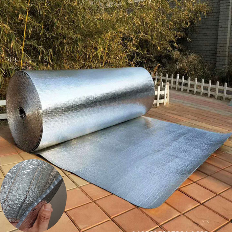 Aluminum Foil Bubble Heat Insulation Film And Double Face Insulation Material For Roof And Sun Room Waterproof 3sqm/Lot