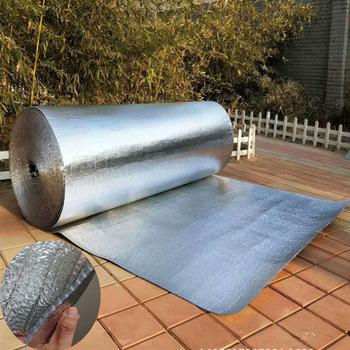Folia termoizolacyjna z folii aluminiowej i podwójny materiał izolacyjny na dach i pokój słoneczny wodoodporny 3sqm lot tanie i dobre opinie Q-065 Other Floor Heating Parts Thermostatic Mixing Valve Insulation Material Silver 0 032 Double bubble Flake about 4mm
