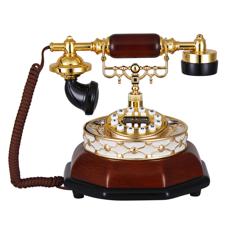 The new European story Square antique telephones retro