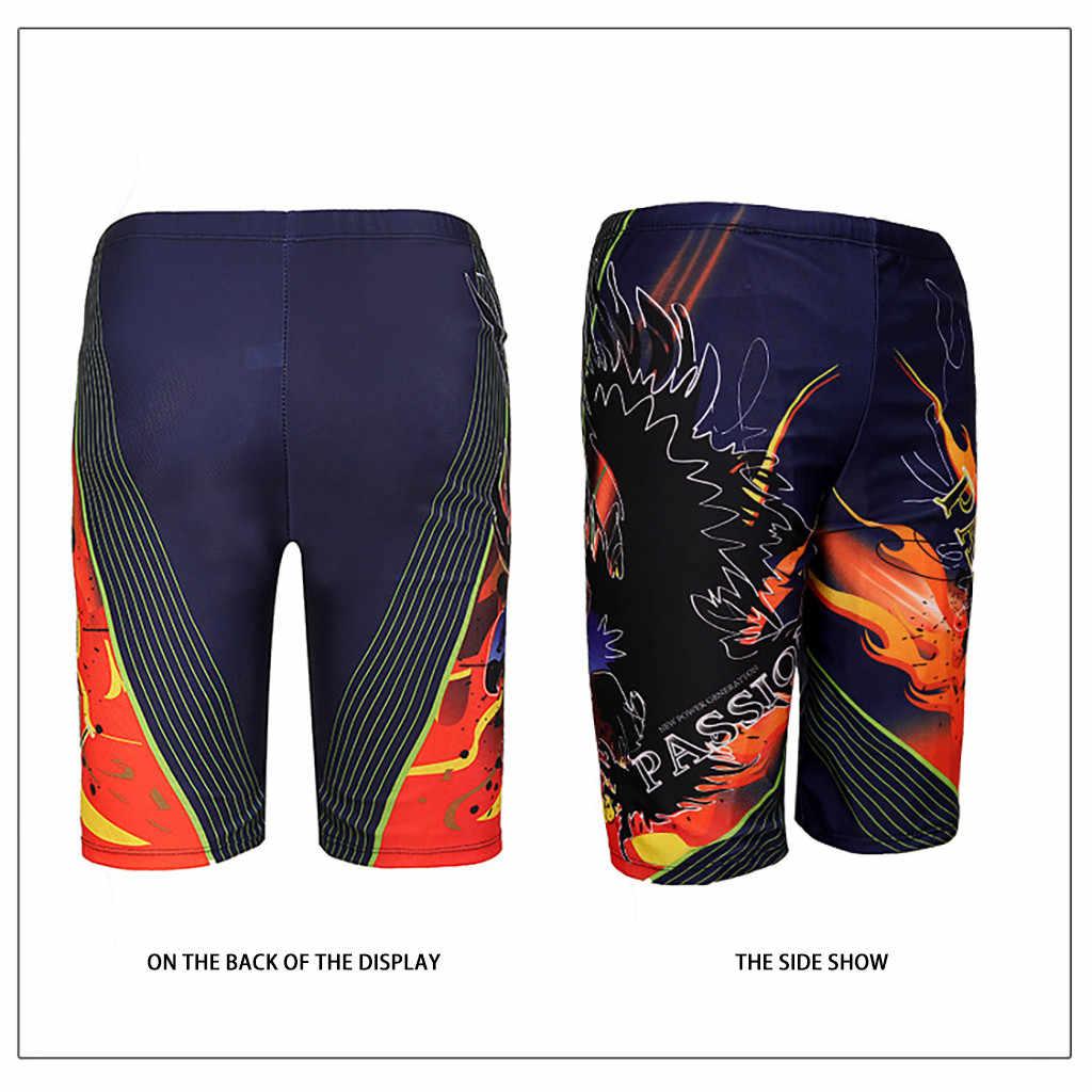 K Berlaku Pria Cepat Kering Pria 2019 Celana Pendek Renang Beach Celana Pendek Musim Panas Ruam Penjaga Pria Berenang Bunga Papan Selancar Surfing baju Renang