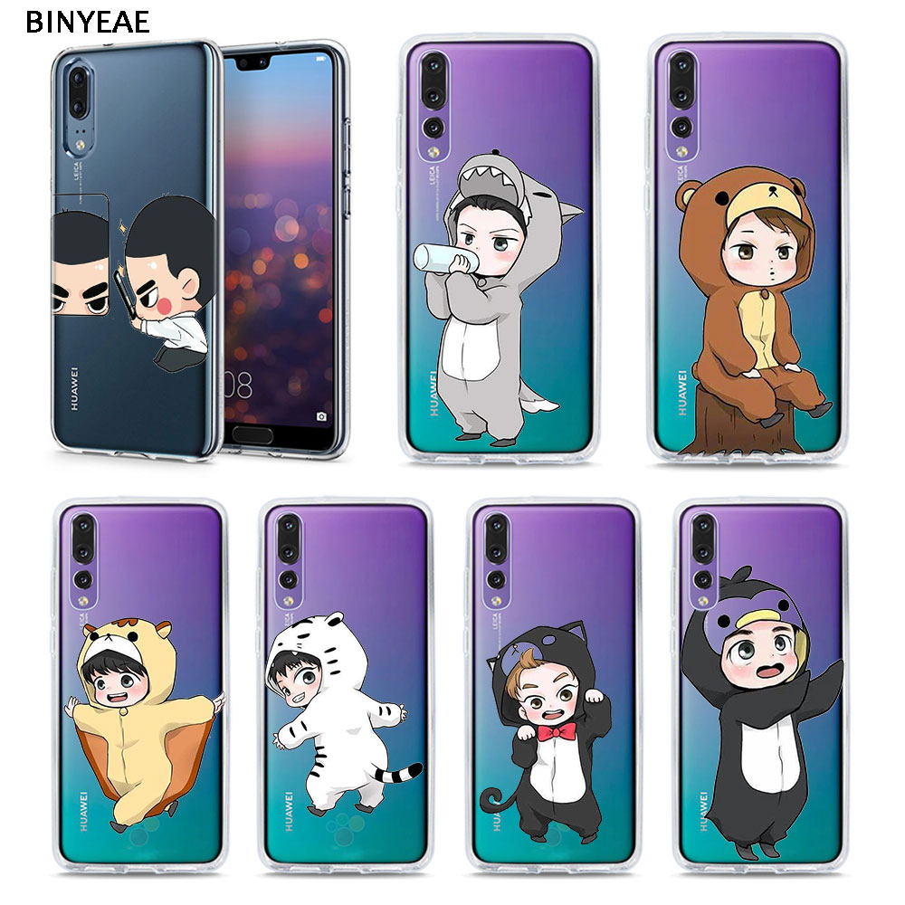 Maiyaca Kpop Exo Lucky One Hot Sale Fashion Luxury Cover Phone Case For Huawei Honor 9 Honor 10 P20 Case Coque Cellphones & Telecommunications