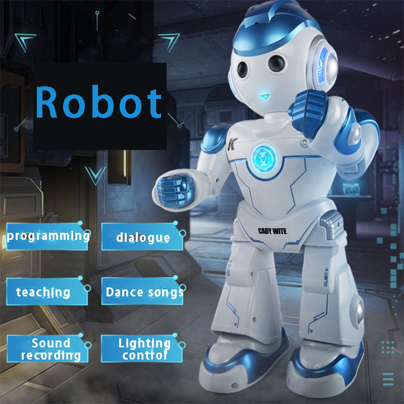 Kaidi Weini Smart Singing And Dancing Boys And Girls Electric Remote Control Robot Educational Toys